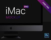iMac Pro Free PSD Mockup