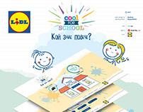 Lidl -Back to School Promo Game