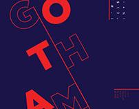 Gotham Type Specimen Poster