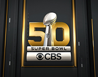 CBS Sports Rebrand / Super Bowl 50