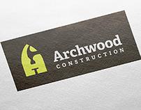 Archwood Construction – Identity Design