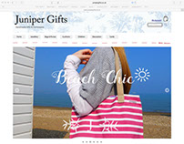 Juniper Gifts Website
