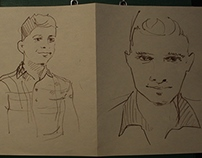 Sketches of the young Startap company