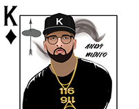 Hip-Hop Playing Cards