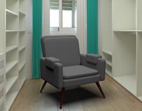 3D chair #1