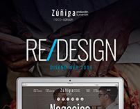 Zuñiga | Rediseño web