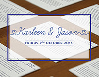 Simplistic Wedding Invitations