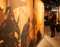 Exhibition illustrations for Nomad Exhibitions