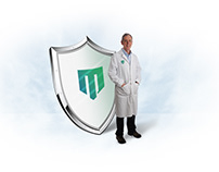 modern pharmacy logo
