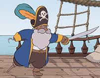 Animation: pirate