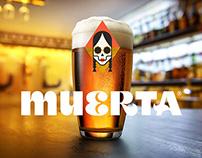 MUERTA Beer Branding