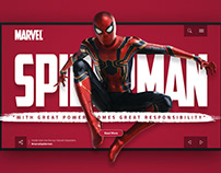 Marvel Home Page Redesign