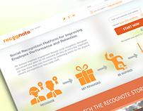 recognote - social recognition platform