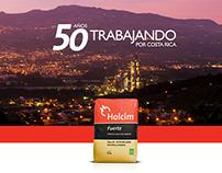 Holcim - 50 años trabajando por Costa Rica