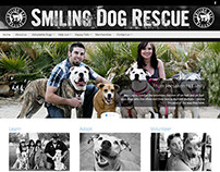 Smiling Dog Rescue Website & Branding