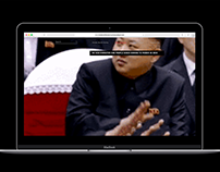 Inside North Korea (Type Experiment in Web), 2017