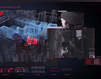 Hitman: Agent 47 screen graphics, VFX and logo