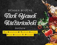 """infografik / TR Dergisi - """"Türk Yemek Kültürü"""""""