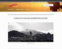 E-Commerce website prototype