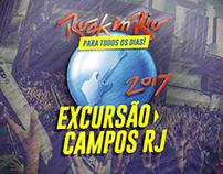 Excursão Rock in Rio 2017