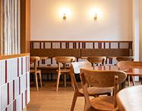 Cozy restaurant Indian Raja Express in Riga