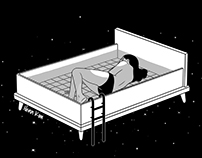 Bed for crying