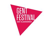 Gent Festival Van Vlaanderen logo