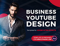 Business YouTube Design | After Effects Template
