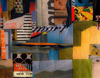 Expressive Room Design // Collage // RecyclingArt