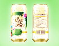Coco Rico Label Redesign