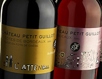 packaging wine chateau petit guillot