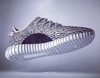 3d Sneaker - Adidas yeezy boost 350