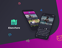 Elsewhere – UX/UI Design & Prototyping for memes app