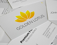 Golden Lotus - Logo