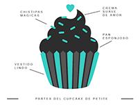 Petite Cupcakes Identity