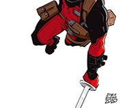 "COMMISSION - ""BOYFRIEND DEADPOOL"""