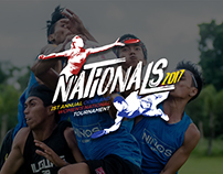 Nationals 2017 logo design