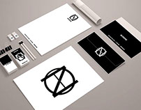 ON Graphic - brand identity mock manual