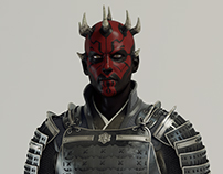 Darth Maul Samurai