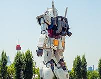 Giant real Gundam Odaiba Tokyo