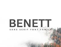 FREE FONT: Benett sans serif