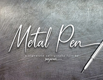 Metal Pen Font Free