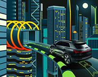 Audi e-tron Superhero Lair