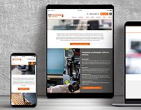TM TECHNIK: website and branding