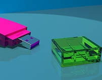 USB  Modelling, Technical Drawings and Rendering
