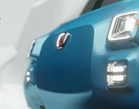 A Fiat 500 Multipla