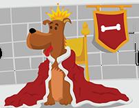 O Rei Animal - Ilustrações