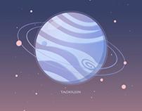 每个星球都是特别的,每个人也一样。( ' – ' ) 。