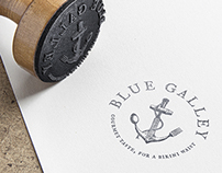 Blue Galley Logo Design
