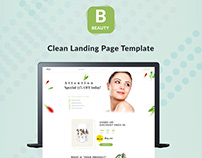 LANDING PAGE TEMPLATE - PRODUCT